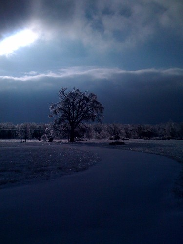 blue winter white snow ice dark time forever