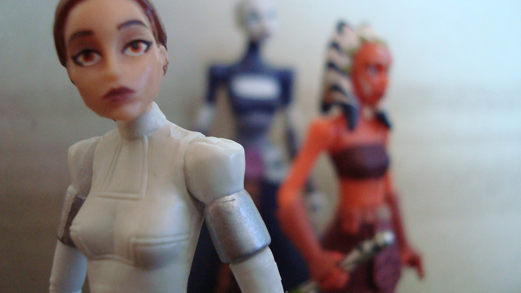 Star Wars - Padme, Ventress & Asoka - Women of Star Wars