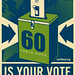 Your Light Switch Is Your Vote by Shepard Fairey