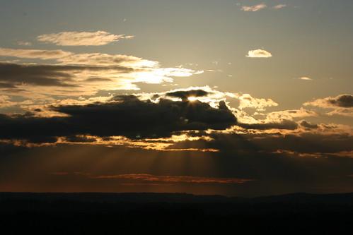 sky sun clouds sunrise canon canon70200f4l