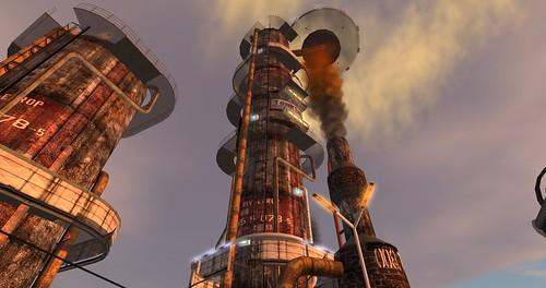 煉油廠。(圖:Wyatt Wellman)
