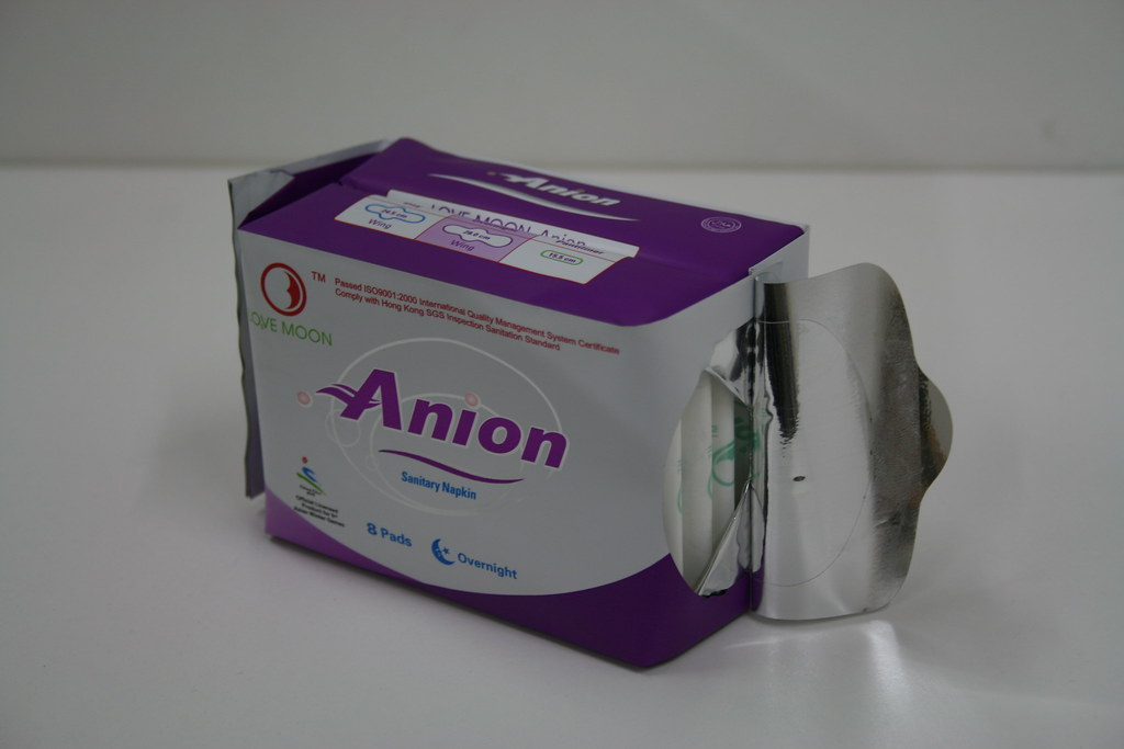 Anion Sanitary Napkins -Overnight