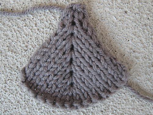 Knitting Increase And Decrease : Fuzzy logic subtle decrease knit side