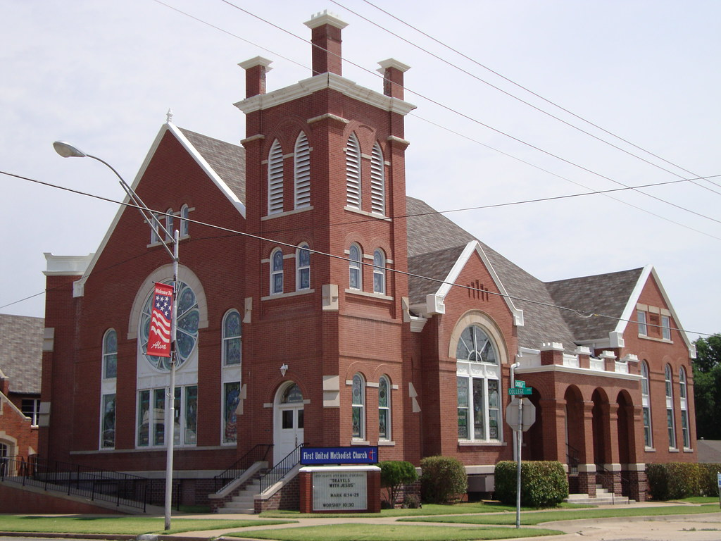 First United Methodist Church Alva Oklahoma Located To Flickr
