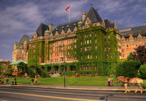 The Empress Hotel, Victoria, British Columbia (Explored)