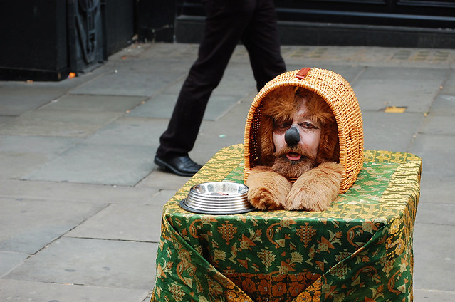 Cool Photos Of London's Street Performers
