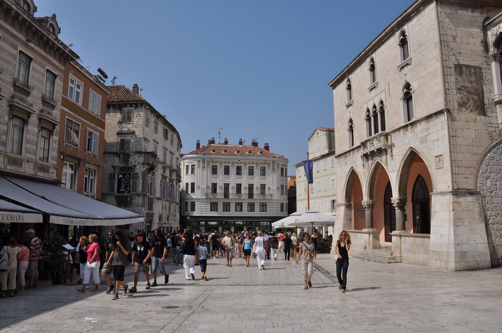 Split old town, Diocletian's Palace