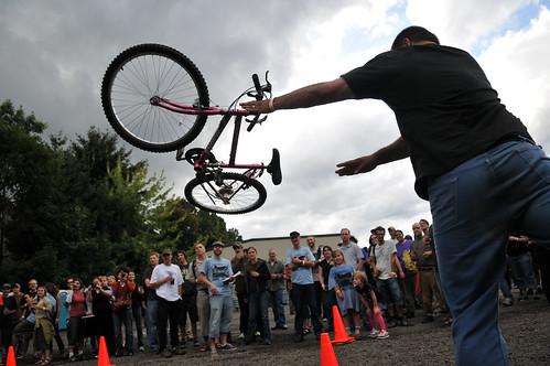 Biketobeerfest at Hopworks -22