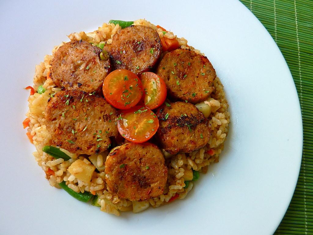 Meatloaf Fried Rice