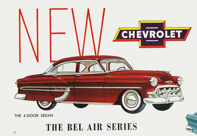 1953 chevrolet bel air 4 door sedan early illustration for 1953 chevy bel air 4 door