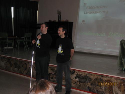 Juama y Paulo  by www.LinuxSur.org
