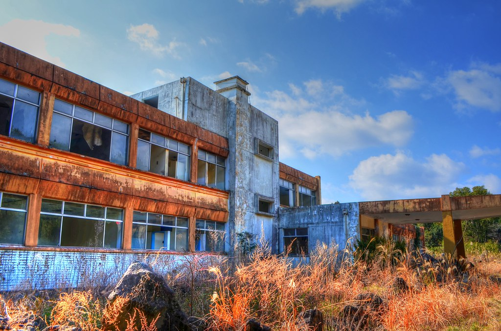 Abandoned School, Jeju, South Korea12