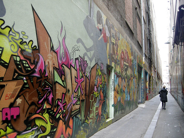 Street art in Melbourne, Australia - Flickr CC brightsea