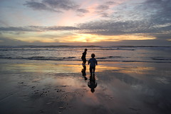 Two Kids and the Sea