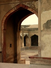 Courtyard at Lahore Fort - II