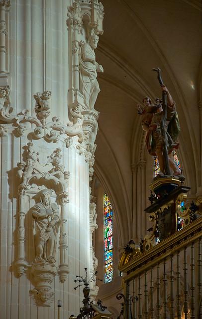 Burgos Cathedral: Interior | Flickr - Photo Sharing!  Burgos Cathedra...
