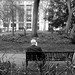 Man on a Bench in Bloomsbury
