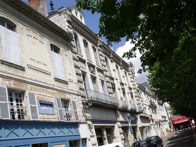 Chinon France Hotels Hotel Diderot Chinon France
