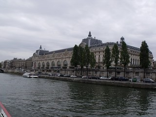 Musee d'Orsay - River Seine