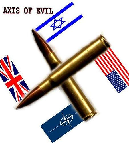 Image result for NATO axis of evil