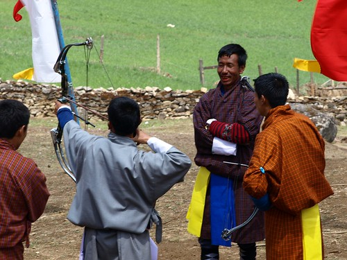Archery, the National Sport of Bhutan #5
