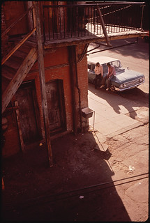 El Paso's Second Ward Neighborhood, Which Is Losing Its Ethnic Flavor in the Wake of Urban Renewal, 06/1972