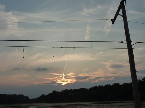 sunset lake fishing resovoir ladue