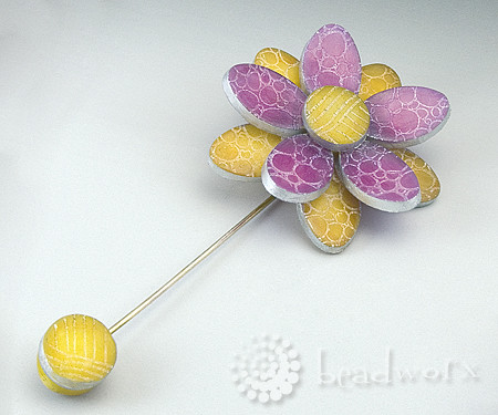 Project 8 - Flower Brooch