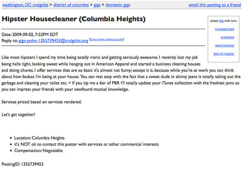 New Columbia Heights Hipster Housecleaner Needed Craigslist
