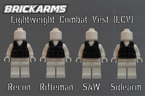 BrickArms Lightweight Combat Vest Variants