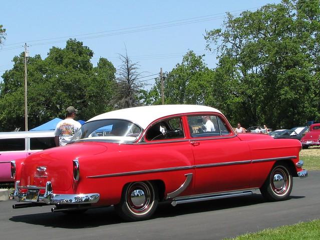 1953 chevrolet 2 door sedan 39 iha 555 39 4 phtotgraphed at for 1953 chevy 4 door