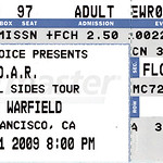 Warfield Ticket