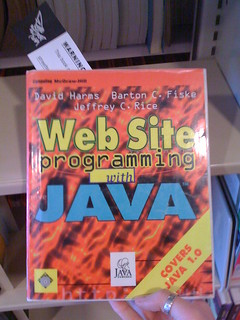 Web Site programming with JAVA