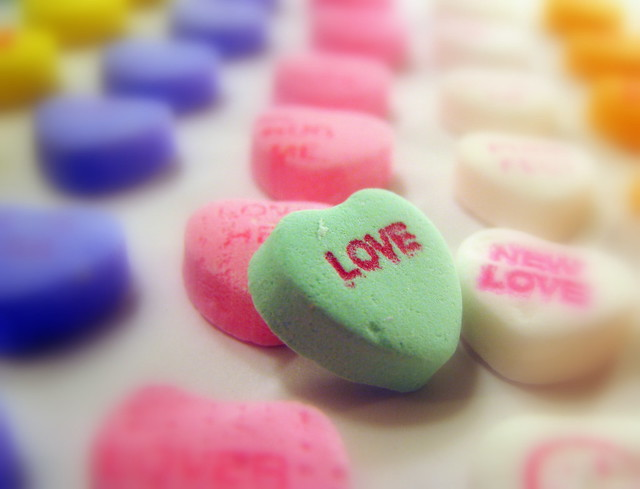 Candy Hearts: Love