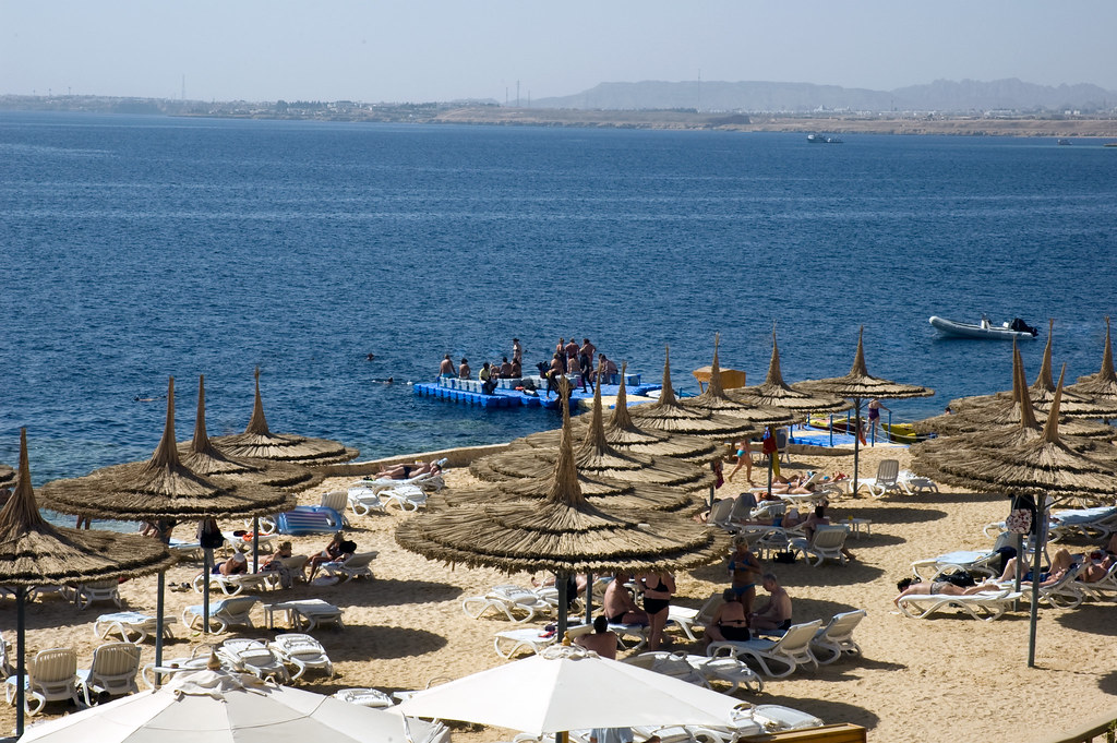 The Hotel Beach, Sharm El Sheik, Egypt