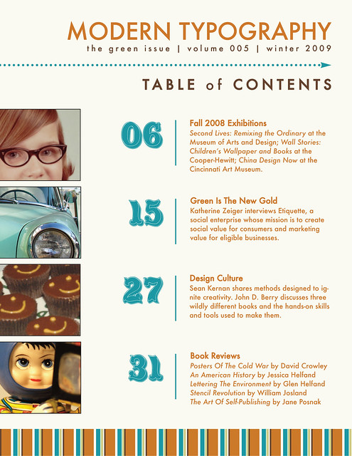 Table Of Contents Design Inspiration 9032 Usbdata