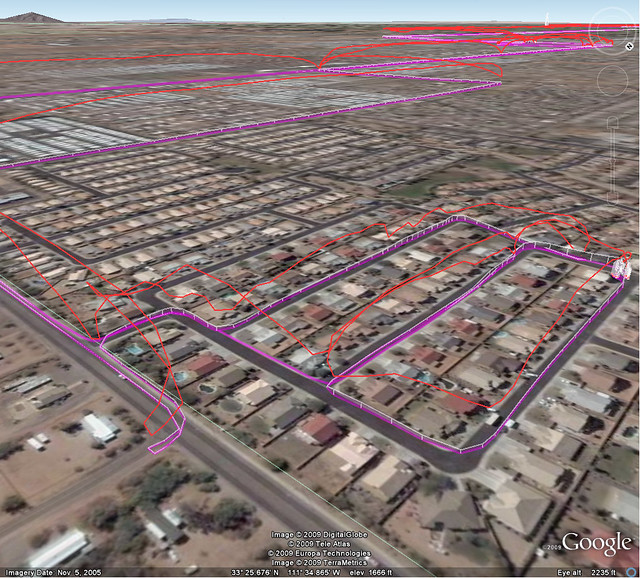 GPS leading home