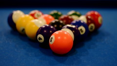 recreation(0.0), nine-ball(0.0), cue stick(0.0), carom billiards(0.0), eight ball(0.0), indoor games and sports(1.0), individual sports(1.0), sports(1.0), pool(1.0), games(1.0), billiard ball(1.0), english billiards(1.0), ball(1.0), cue sports(1.0),