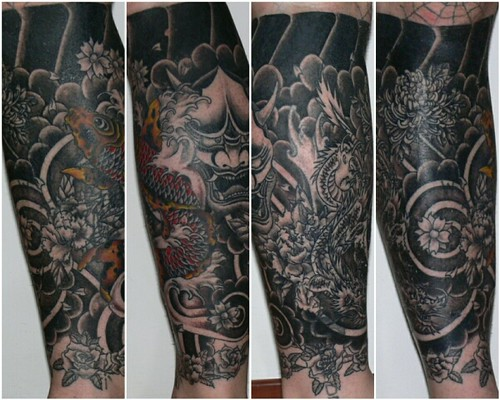 The big cover up second leg 7 flickr photo sharing for Big tattoo cover up