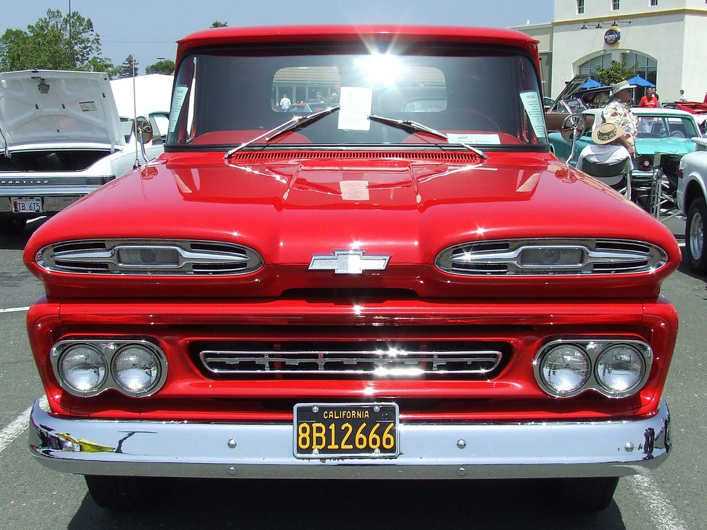 1961 Chevy Apache Pickup Truck Shortbed Rare Chevrolet 20 6b12666 2 Jc A Photo
