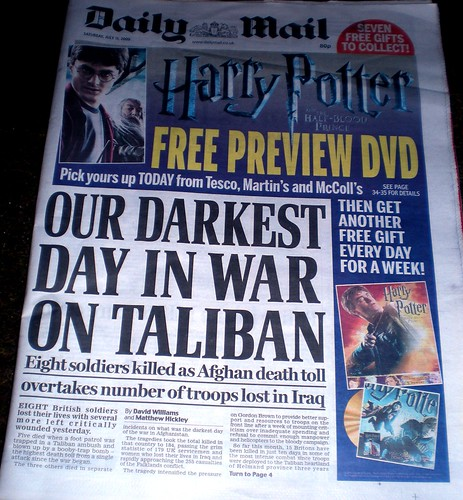 OUR DARKEST DAY IN WAR ON TALIBAN
