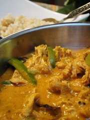 vegetarian food(0.0), produce(0.0), meal(1.0), stew(1.0), curry(1.0), vegetable(1.0), food(1.0), korma(1.0), dish(1.0), cuisine(1.0),