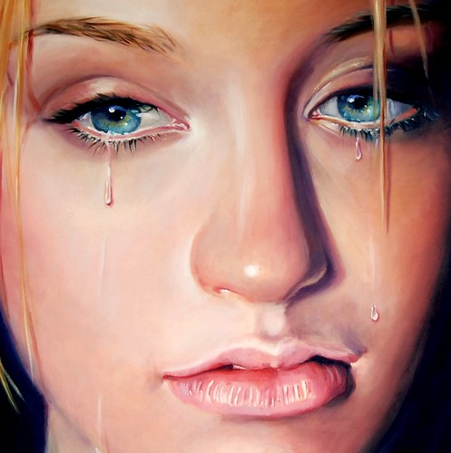 Sad Angel Paintings Quot Sad Angel Quot by Tamara Geddes