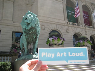 The Art Institute of Chicago plays art loud.