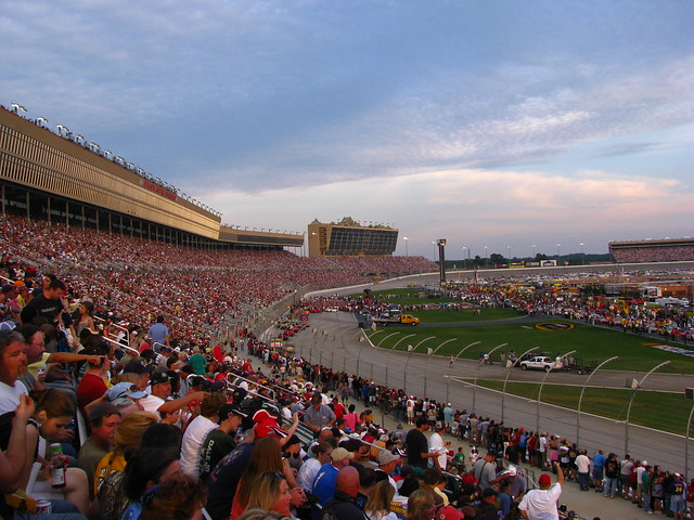 Atlanta Motor Speedway In The Early Evening Flickr