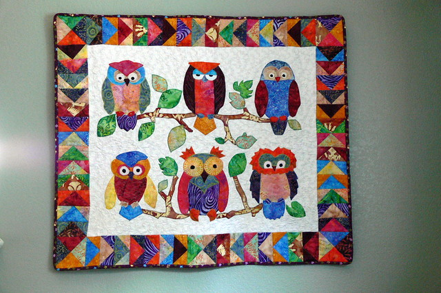 owl quilt Owl Quilt Patterns Baby