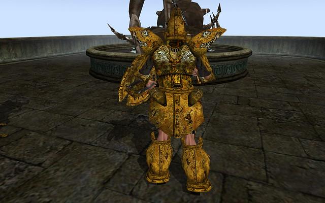 Dwemer Armor, Dwemer Shield, Dwarven Mace 3   Flickr ...