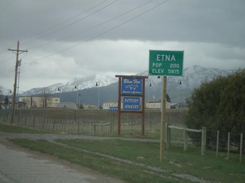 US-89 North - Entering Etna