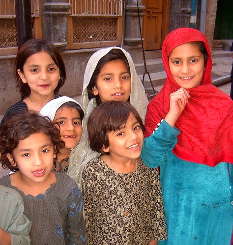Bright-Eyed Girls - Old Peshawar 2006