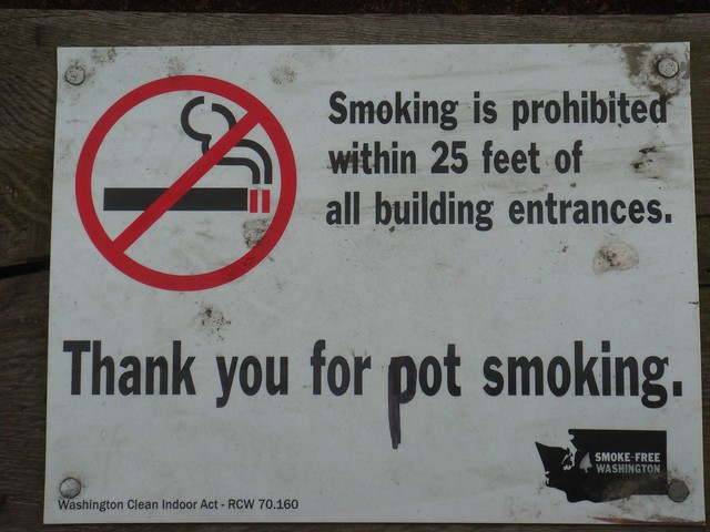 Thank you for pot smoking.